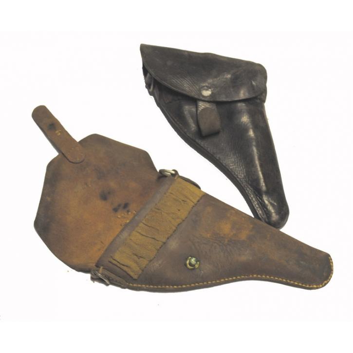 Schweizer Armee - Revolver 1882 - 1929 - Leder-Holster