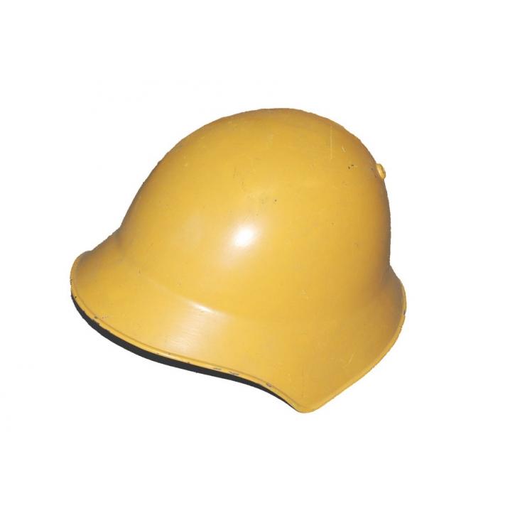 Schweizer Armee - Kampf Helm 18 - Werkschutz - gelb
